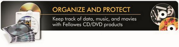 Fellowes CD and DVD Solutions